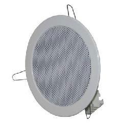 供应室内吸顶式扬声器 防火设计吸顶式扬声器图片