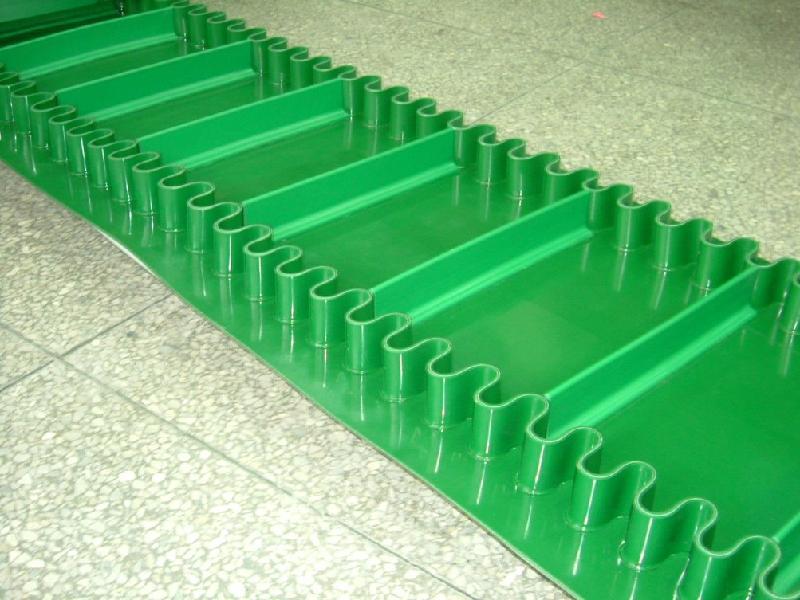 东莞绿色加挡板裙边输送带供货商|绿色pvc加挡板裙边输送带|东莞绿色加挡板裙边输送带批发价格