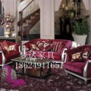 郑州欧式美式别墅沙发123组合图片