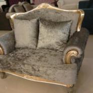 现代美式欧式双人沙发价格图片