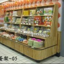 供应超市鸡蛋屋木质禽蛋架  蛋品柜图片