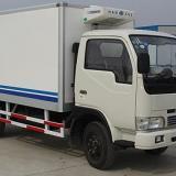 供应定西东风多利卡国四冷藏车/瓜果蔬菜冷藏运输车