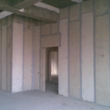 供应厂房ALC板防火墙施工