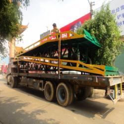 供應手動升降移動式登車橋供貨商