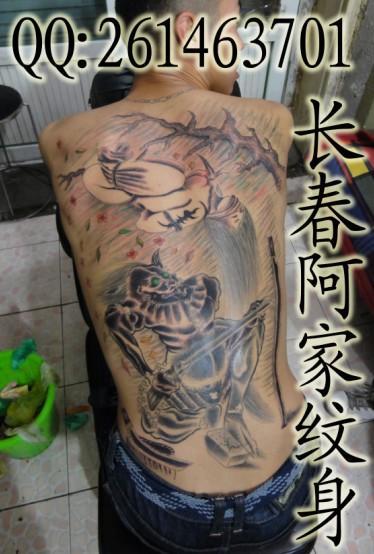 手面纹身动物和鬼图_纹身图案大全图片分享图片