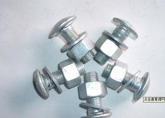 供应镀锌喷塑柱帽螺栓