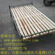 供应优质铁架木板床 实木单人折叠床出售可送货图片