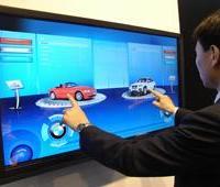 供应17寸电容触摸显示器win7 xp系统触摸显示器