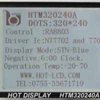 供应320240液晶显示模块5.7寸320240点阵LCD液晶模块