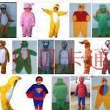 供应小孩露脸服装儿童表演服饰卡通服装米老鼠喜洋洋卡通人偶服装道具