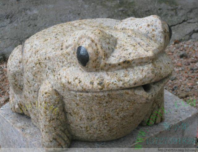 青蛙石雕工艺品销售