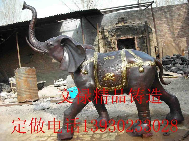 供应加工铜大象