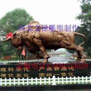 铜雕开荒牛铸铜拓荒牛厂家图片