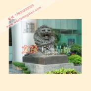 汇丰狮子厂家/铜狮子厂家图片