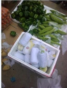 蔬菜包装纸图片/蔬菜包装纸样板图 (1)