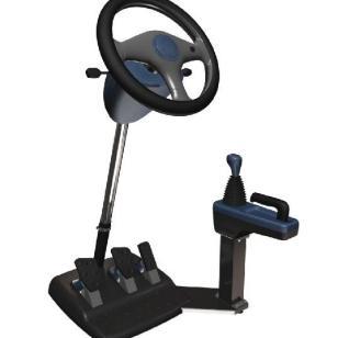 友友车友便携式汽车驾驶训练机图片