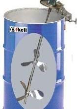 供应便捷式夹桶式搅拌机油漆油墨搅拌机涂料气便捷式夹桶式气动搅拌机