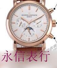 供应江诗丹顿01自动机械男表 传承系列月相机械男表