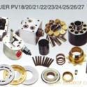 柱塞泵配件缸体和配油盘及回程盘图片