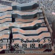 16MN钢板16锰钢板切割图片