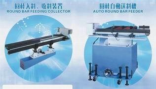 圆棒自动送料机-机床搭配图片/圆棒自动送料机-机床搭配样板图 (2)