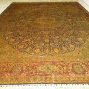 丝质手工地毯/丝绸地毯/手工丝毯图片