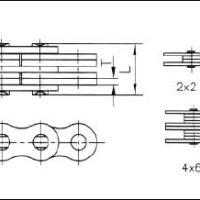 叉车链条板式链BL623(杭叉)