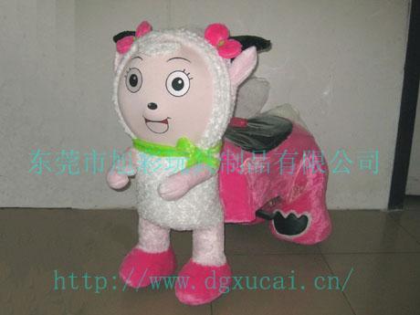 美洋洋儿童玩具电动车东莞旭彩专业打创喜洋洋玩具车