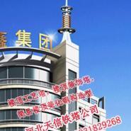 内蒙古地区楼顶工艺塔避雷塔厂家销图片