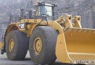 供5t装载机轮胎保护链防滑链配件图片