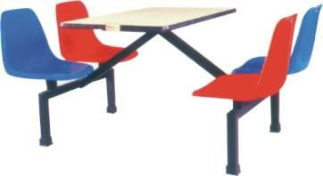 供应湛江食堂玻璃钢餐桌湛江快餐桌