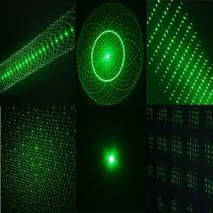 五合一绿色激光笔100mW图片