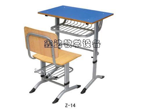 供应圆管课桌椅/固定式课桌椅