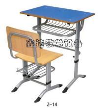 供应圆管课桌椅/固定式课桌椅图片