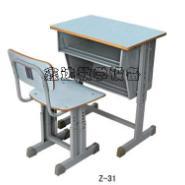 学生双斗课桌椅厂家图片