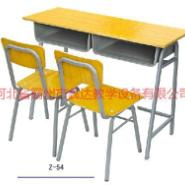 云南圆管课桌椅销售图片