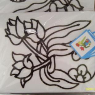 石嘴山烤胶画儿童胶画手工烤画图片