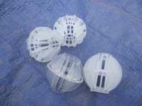 供应塑料多面空心球
