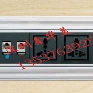 银拉丝电动翻转插座图片