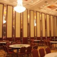 上海吊趟门活动屏风隔断移动隔断图片