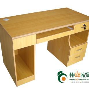 140黄色办公桌电脑桌图片