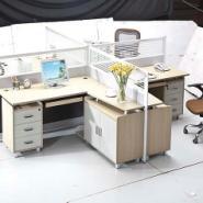 办公卡位办公屏风桌员工办公桌图片