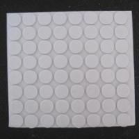 河北折叠凳白色胶垫2毫米厚单面胶垫
