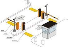 供应武汉小区停车场远距离不停车读卡系统设计安装维修批发
