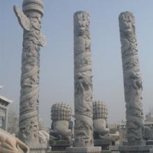 供应华表、石雕华表、汉白玉华表、青石龙柱、青石柱座、青石华表厂家