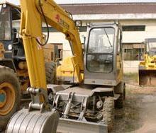 供应厦工轮胎二手挖掘机