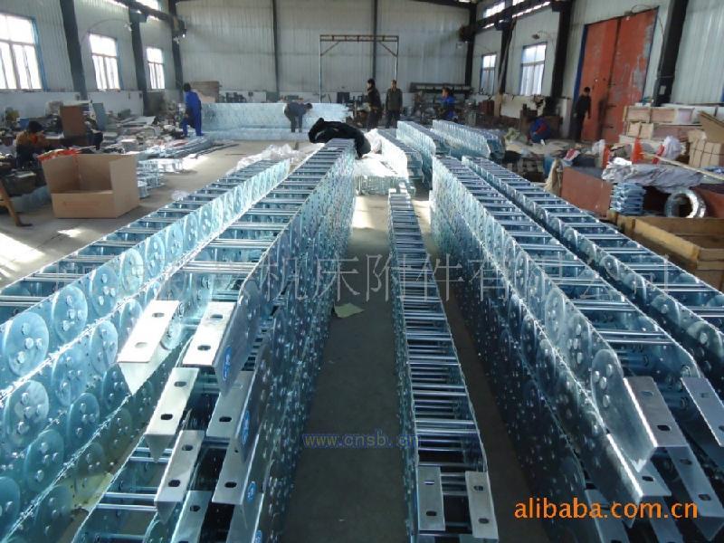 供应机床穿线系统TLG型钢铝拖链工程拖链塑料拖链