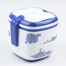 供应青花饭盒销售价