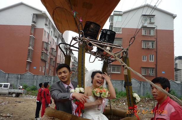 供应广州热气球婚礼价格图片
