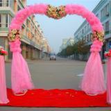 供应襄阳婚庆用品、婚庆彩虹门、路引、心形门、背景、香槟塔、烛台批发